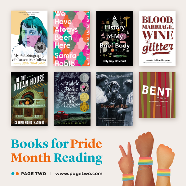 Page Two Pride Month reads