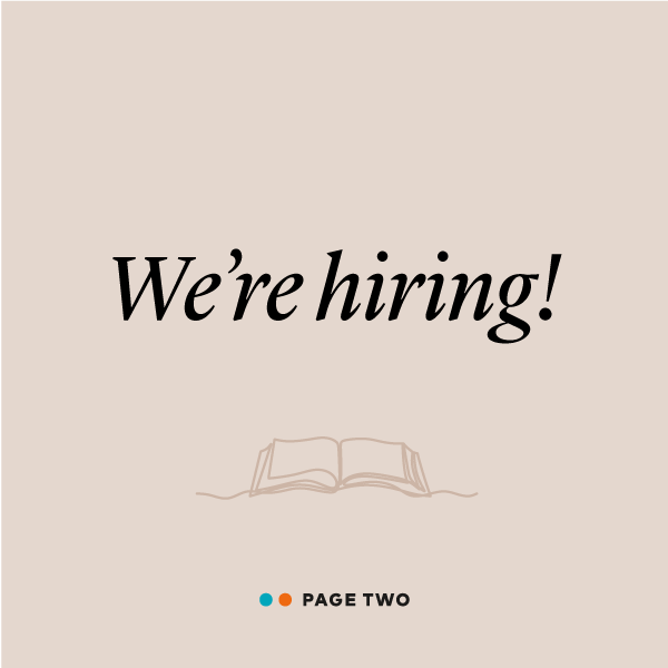 We're hiring a Production Editor!